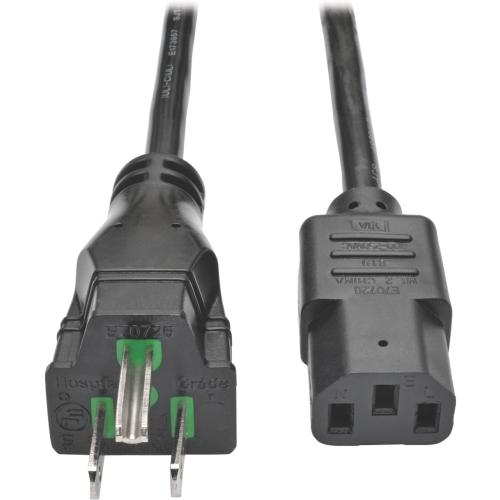 Hospital Power Cord 10A 15'