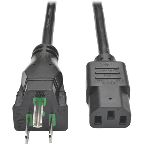 Hospital Power Cord 15A 25'