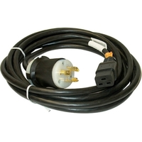 12AWG BLACK POWER CORD