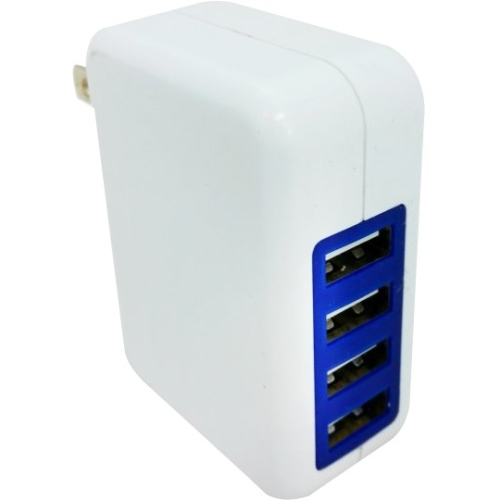 4 Port USB Wall Charger 3.1A