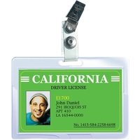 25PK ID CARD SIZE SLOT PUNCHED