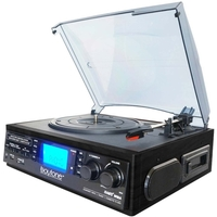MULTIMEDIA TURNTABLE SYST BLK