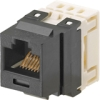 NK CAT 6 JACK MODULE BLACK