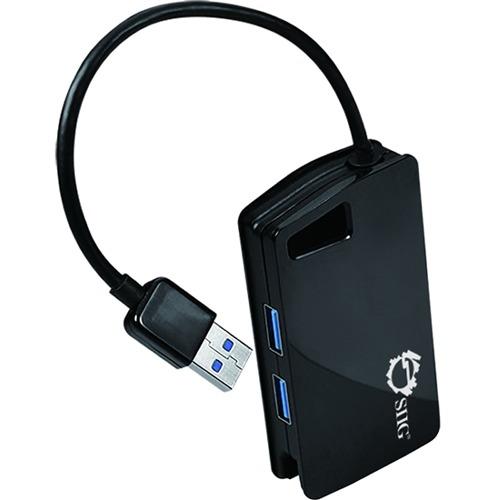 SuperSpeed USB 3.0 LAN Hub Red