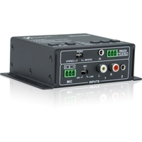 AUDIO MIXER AMP 8OHM 20W REMOTE
