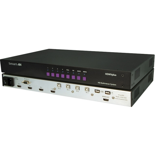4PORT HDMI STEREO AUDIO RS-232