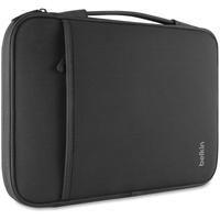 "Belkin Carrying Case (Sleeve) for 11"" MacBook Air, Notebook, Tablet - Black"