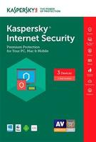 Kaspersky Internet Security 2017 (3 PC/1 Year)