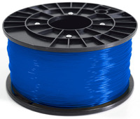 1Kg Spool PLA Filament (Transparent Blue)