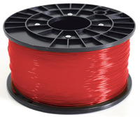 1Kg Spool PLA Filament (Transparent Red)