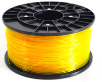 1Kg Spool PLA Filament (Transparent Yellow)