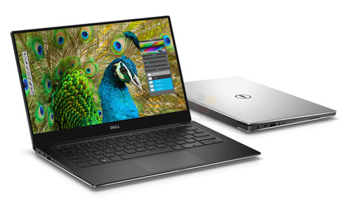 """XPS 13 9350; 13.3"""" FHD 1920x1080 Infinity display; Intel Core i-3 7100U 3NB cache up to 2.4GHz; 4GB LPDDR3 1866 MHz; 128GB SSD; Silver"""