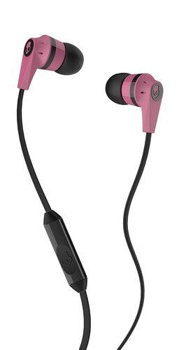 Skullcandy Ink'd 2.0 Earbud Headphones with Mic Pink/Black