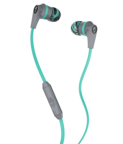 Skullcandy - Ink'd 2 In-Ear Headphones - Gray, Mint