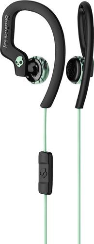 Skullcandy Chops Flex Ear Hook Headphones Black/Mint/Swirl
