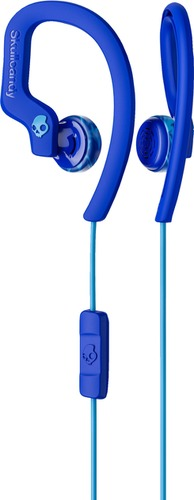 Skullcandy Chops Flex Ear Hook Headphones Royal Blue/Blue/Swirl