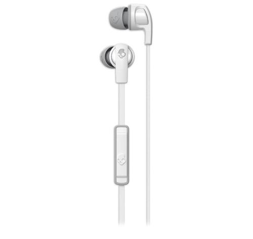 Skullcandy Smokin Buds 2.0 Earbud Headphones with Mic White/Gray