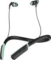 Skullcandy Method Bluetooth Wireless Earbuds Black/Mint Swirl
