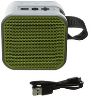 Skullcandy Barricade Mini Bluetooth Speaker Gray/Hot Lime