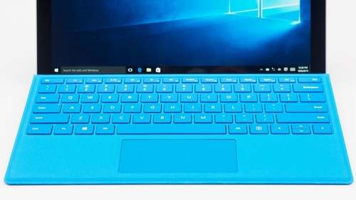 Microsoft Type Cover Keyboard/Cover Case for Tablet - Cyan