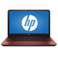 "HP 15-ba000 15-ba082nr 15.6"" Touchscreen Notebook - AMD A-Series A8-7410 Quad-core (4 Core) 2.20 GHz - 4 GB - 1 TB HDD - Windows 10 Home - Red"