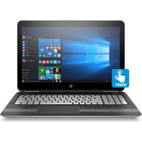 "HP Pavilion 15-bc000 15-bc020nr 15.6"" Touchscreen Notebook - Intel Core i5 (6th Gen) i5-6300HQ Quad-core (4 Core) 2.30 GHz - 12 GB - 1 TB HDD - Windows 10 - Silver"