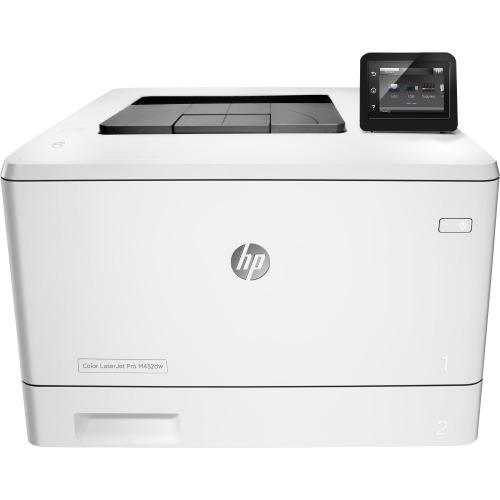 HP LaserJet Pro M452dw Laser Printer - Color - 600 x 600 dpi Print - Plain Paper Print - Desktop
