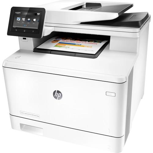 HP LaserJet Pro M477fdw Laser Multifunction Printer - Plain Paper Print