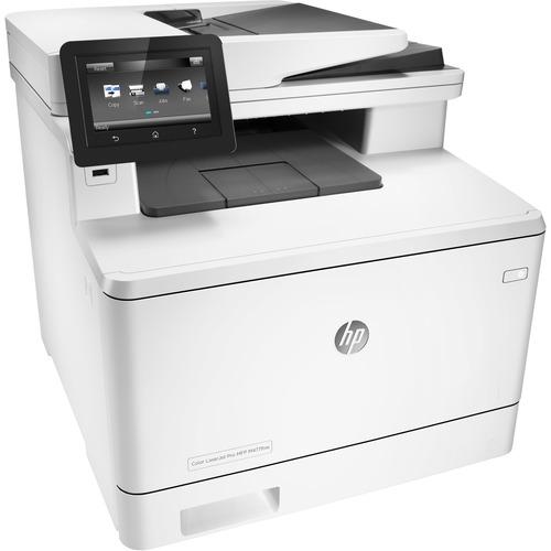 HP LaserJet Pro M477fnw Laser Multifunction Printer - Color - Plain Paper Print - Desktop