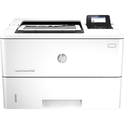 HP LaserJet M506N Laser Printer - Monochrome - Plain Paper Print - Desktop
