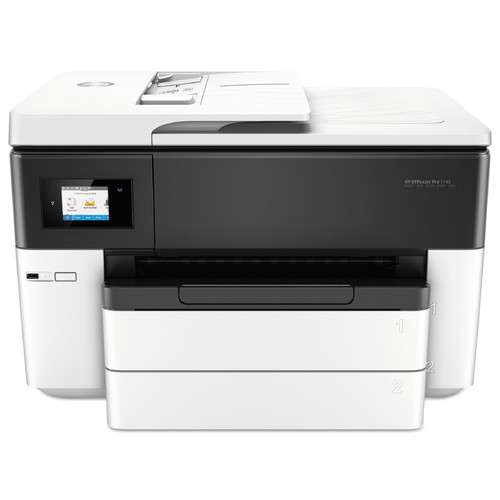 HP Officejet Pro 7740 Inkjet Multifunction Printer - Color - Plain Paper Print - Desktop