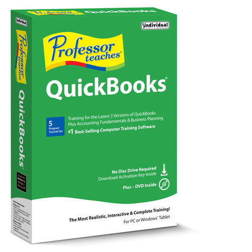 Professor Teaches QuickBooks 2017 - tutorial set (Win - Download)