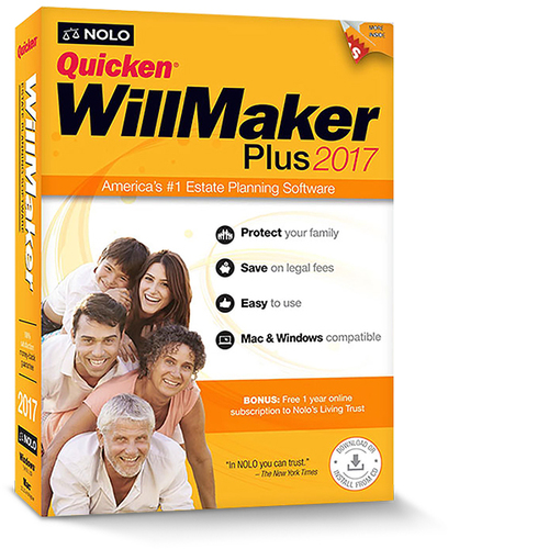 Quicken WillMaker Plus 2017 (Win - Download)