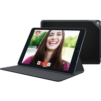 "Logitech Hinge Carrying Case for iPad Air 2 - Black - Liquid Resistant, Spill Resistant, Bump Resistant Interior, Scratch Resistant Interior - Fabric - 6.9"" Height x 9.6"" Width x 0.6"" Depth"