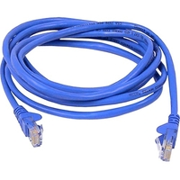 "Belkin High Performance Cat. 6 UTP Patch Cable - RJ-45 Male - RJ-45 Male - 18"" - Blue"