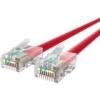Belkin CAT6 Ethernet Patch Cable, RJ45, M/M A3L980-10-RED - Category 6 for Network Device, Notebook, Modem, Router - 128 MB/s - Patch Cable - 10 ft - 1 x RJ-45 Male Network - 1 x RJ-45 Male Network - Gold Plated Connector - Red