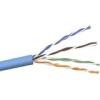 Belkin A7L504-1000BL-R Cat.5e Network Cable - Category 5e for Network Device - 1 x RJ-45 Male Network - 1 x RJ-45 Male Network - Blue