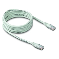 Belkin Cat. 5e Network Patch Cable - RJ-45 Male - RJ-45 Male - 16.01ft - White