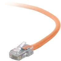 Belkin Cat5e Patch Cable - RJ-45 Male - RJ-45 Male - 20ft - Orange