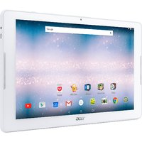 "Acer ICONIA B3-A30-K57G Tablet - 10.1"" - 1 GB DDR3L SDRAM - MediaTek Cortex A53 MT8163 Quad-core (4 Core) 1.30 GHz - 16 GB - Android 6.0 - White"