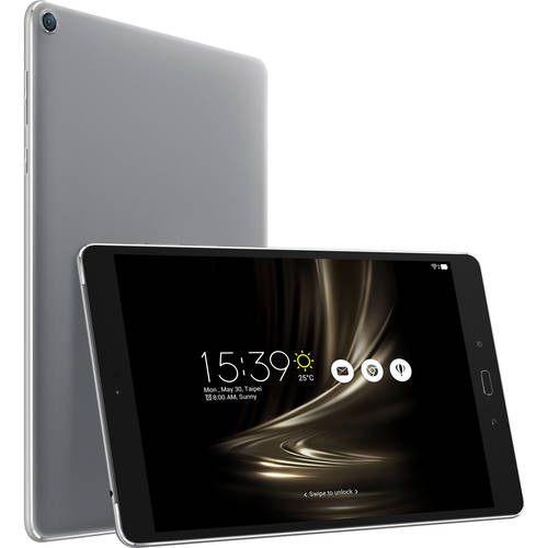 "Asus ZenPad 3S 10 Z500M-C1-GR Tablet - 9.7"" - 4 GB LPDDR3 - MediaTek MT8176 Hexa-core (6 Core) 2.10 GHz - 64 GB - Android 6.0 - Silver"