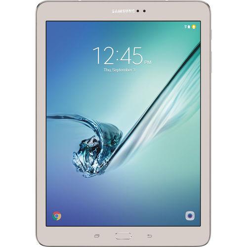 "Samsung Galaxy Tab S2 SM-T813 Tablet - 9.7"" - 3 GB - Qualcomm APQ8076 Quad-core (4 Core) 1.80 GHz - 32 GB - Android 6.0 - Gold"
