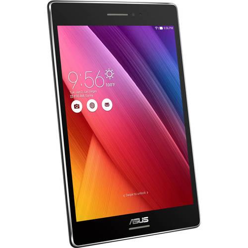 """Asus ZenPad S 8.0 Z580C-B1-BK Tablet - 8"""" - 2 GB LPDDR3 - Intel Atom Z3530 Quad-core (4 Core) 1.33 GHz - 32 GB - Android 5.0 - Black"""