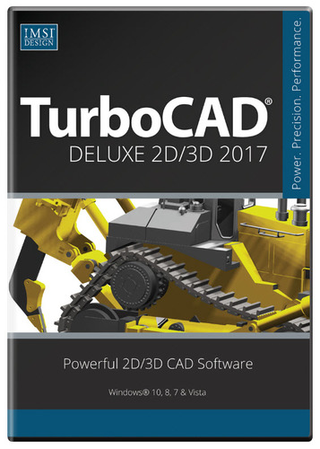 TurboCAD Deluxe 2017 (Electronic Software Delivery)