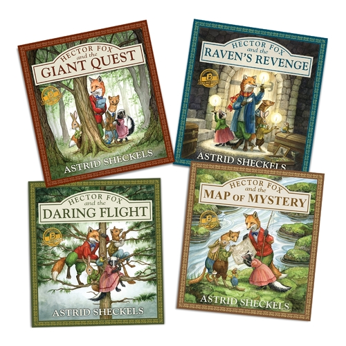 Hector Fox Series - Augmented And Virtual Reality 3D Interactive Children's Book Series - Set Of 4