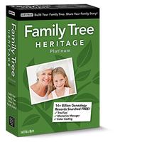 Family Tree Heritage Platinum 15 (Mac - Download)
