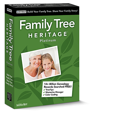 Family Tree Heritage Platinum 15 (Win - Download)
