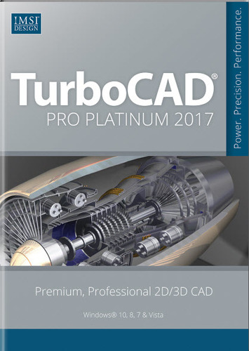 TurboCAD Pro Platinum 2017 (Electronic Software Delivery)