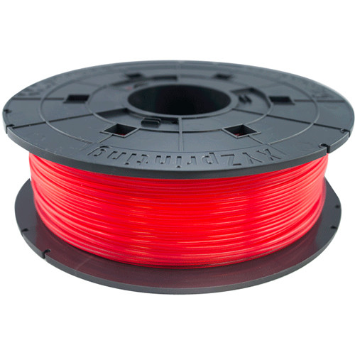 daVinci Jr PLA Filament CL RED