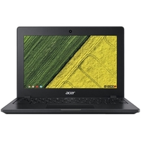 "Acer C771T-C1WS 11.6"" Touchscreen LCD Chromebook - Intel Celeron 3855U Dual-core (2 Core) 1.60 GHz - 4 GB LPDDR3 - 32 GB Flash Memory - Chrome OS - 1366 x 768 - In-plane Switching (IPS) Technology - Intel HD Graphics 510 LPDDR3 - Bluetooth - Front Camera/Webcam - IEEE 802.11ac - HDMI - 2 x USB 3.0 Ports - USB Type-C"